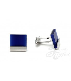 Gemelos Acero Caballero, Cuadrado Azul, TF280