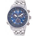 Reloj Citizen Caballero Crono Pilot Titanio, AS4050-51L