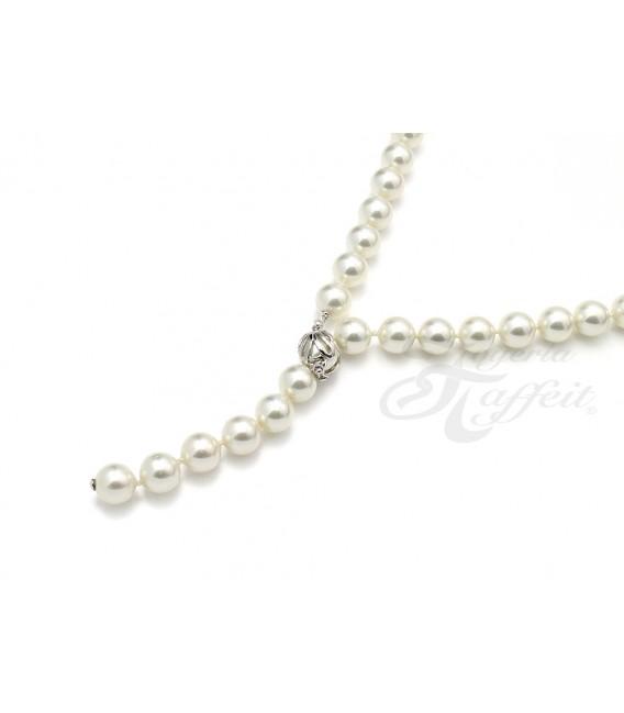 Collar Señora Perlas Orquidea, Blanco, 01101050