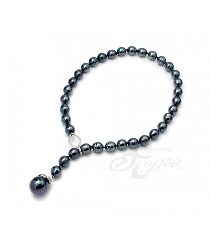 a80836f90dcb Collar Señora Perlas Orquidea