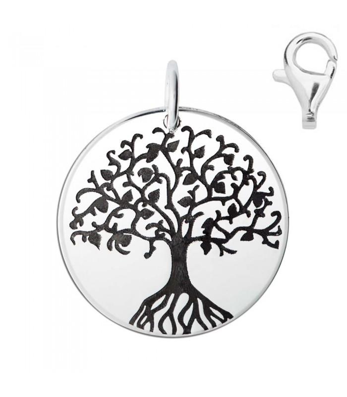Colgante Dije Plata árbol De La Vida Silver Diez Taffeit