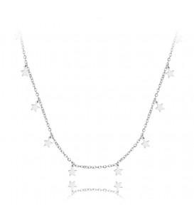 Collar Mini Stars en Plata