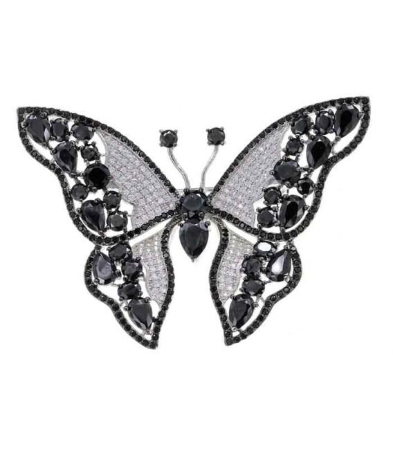 Broche Plata Mariposa, LineArgent