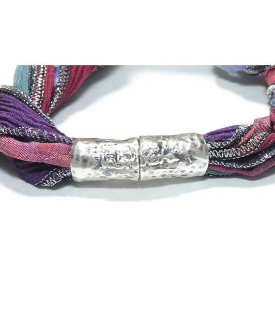 Pulsera labruixeta, Plata Seda y Perla Barroca, BRU1204PS