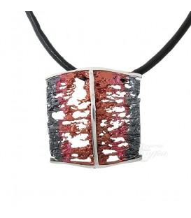 Colgante Plata Simeltech, Pigmento Rojo, 0116246P-1