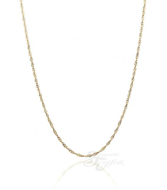 Cadena Singapur de Oro 18k, Grosor 1,15 mm