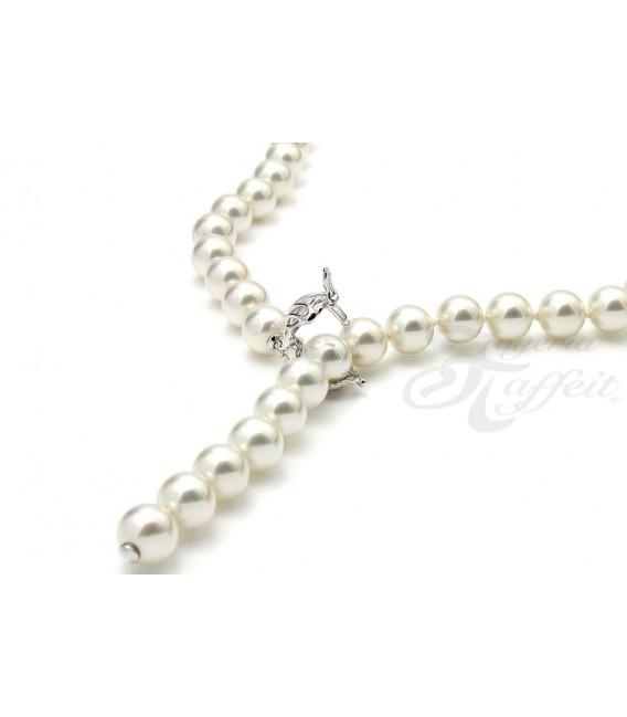 Collar Señora Perlas Orquidea, Blanco, 01081045