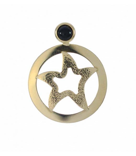 Colgante Oro Señora Estrella, jf169