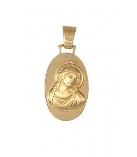Medalla Oro Unisex, Jesucristo, pas279