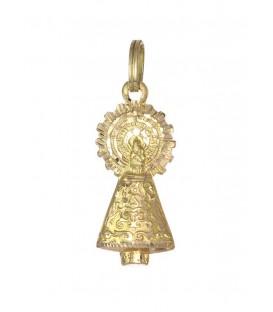 Medalla Oro Unisex, Virgen del Pilar, akr605