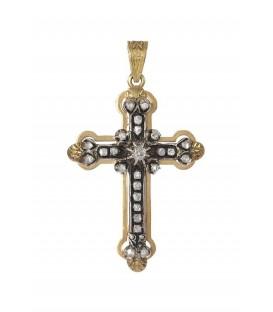 Cruz Isabelina Oro Señora con Diamantes, kro4