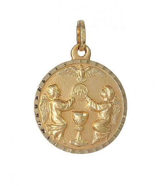 Medalla Oro Unisex Comunión, sr172
