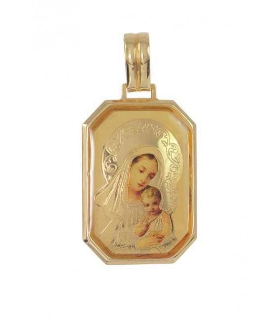 Medalla Oro Señora Esmaltada, meg489