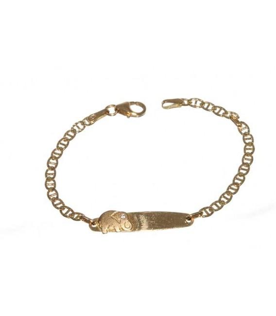 Esclava Oro Bebe, Elefante, meg451