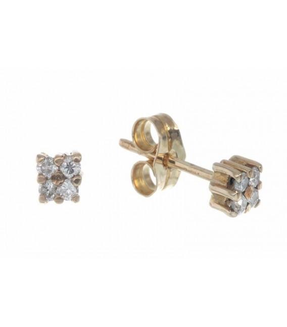 Pendientes Oro Señora Diamantes, car2