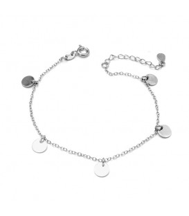 Pulsera Mini Moon en Plata