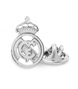Pin Real Madrid Macizo Plata