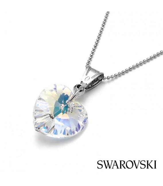 Colgante Señora Plata, Cristal de Swarovski