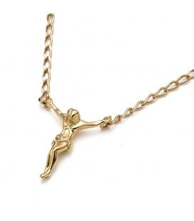 Cristo de Dalí Oro Caballero