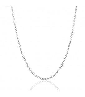 Cadena Rolo de Plata, Grosor 2,3 mm