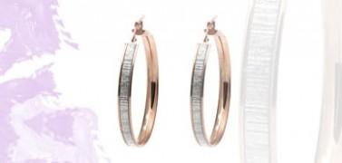 Aros de plata para mujer