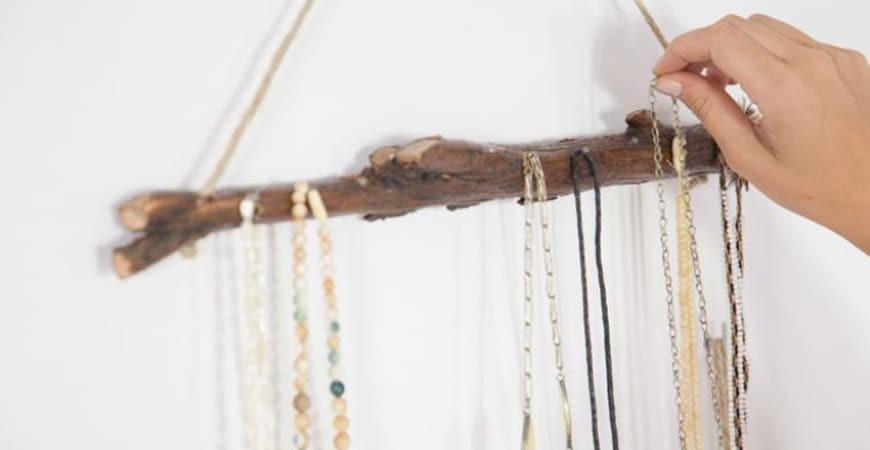 Ideas creativas y originales para colgar collares y pulseras